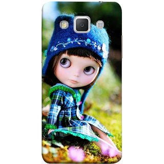 FUSON Designer Back Case Cover for Samsung Galaxy Grand Max G720 (Cute Barbie Doll Images Grass Green Best Back Cover)