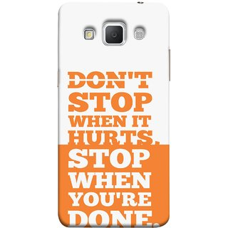 FUSON Designer Back Case Cover for Samsung Galaxy Grand Max G720 (Stop When You Are Done Always See Targets )