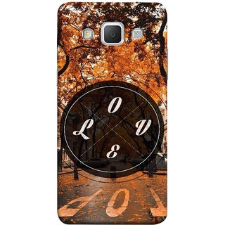 FUSON Designer Back Case Cover for Samsung Galaxy Grand Max G720 (Love Everywhere Stay Long Life Always Road Lovers )