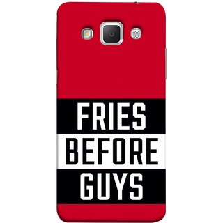 FUSON Designer Back Case Cover for Samsung Galaxy Grand Max G720 (Food Before Dudes Food Lovers Mac D Lovers )