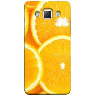 FUSON Designer Back Case Cover for Samsung Galaxy Grand Max G720 (Lemon Agriculture Background Bud Candy Cell)