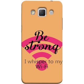 FUSON Designer Back Case Cover for Samsung Galaxy Grand Max G720 (Be Strong In Life Always Youngs Boys And Girls Network)
