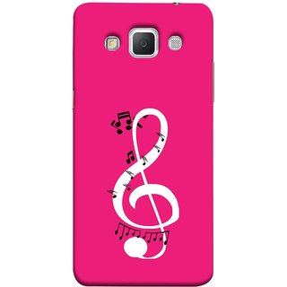 FUSON Designer Back Case Cover for Samsung Galaxy Grand Max G720 (Disc Music Notes Music Lover And Collector )