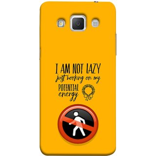 FUSON Designer Back Case Cover for Samsung Galaxy Grand Max G720 (Potential Energy Your Emotions No Walk Sign)