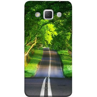 FUSON Designer Back Case Cover for Samsung Galaxy Grand Max G720 (Road Surrounded By Mountains Beautiful Old Trees )