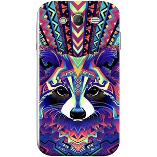 FUSON Designer Back Case Cover for Samsung Galaxy Grand Neo I9060 :: Samsung Galaxy Grand Lite (Dog Cat Kitten Whisker Puppy Triangle Rectangle)