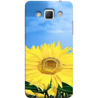 FUSON Designer Back Case Cover for Samsung Galaxy Grand Max G720 (Field With Bright Blue Sky Summer Sunlight Leaves)