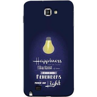 FUSON Designer Back Case Cover for Samsung Galaxy Note N7000 :: Samsung Galaxy Note I9220 :: Samsung Galaxy Note 1 :: Samsung Galaxy Note Gt-N7000 (If Only One Remembers To Turn On The Light)