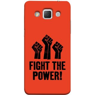 FUSON Designer Back Case Cover for Samsung Galaxy Grand Max G720 (Always Fight For Truth Justice Will Stand Tall In Sky )