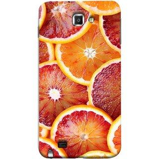 FUSON Designer Back Case Cover for Samsung Galaxy Note N7000 :: Samsung Galaxy Note I9220 :: Samsung Galaxy Note 1 :: Samsung Galaxy Note Gt-N7000 (Citric Flesh Food Fruit Green Lemon Part Peel Orange)