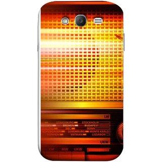 FUSON Designer Back Case Cover for Samsung Galaxy Grand Neo I9060 :: Samsung Galaxy Grand Lite (Blur Music Background With Retro Radio Antique )