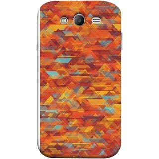 FUSON Designer Back Case Cover for Samsung Galaxy Grand Neo Plus I9060I :: Samsung Galaxy Grand Neo+ (Geometric Watercolour Art Print Pink Bright)