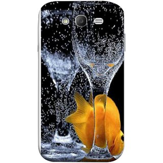 FUSON Designer Back Case Cover for Samsung Galaxy Grand Neo Plus I9060I :: Samsung Galaxy Grand Neo+ (3D Water Splash Illustration Fuzzy Bubbles Unique)