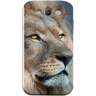 FUSON Designer Back Case Cover for Samsung Galaxy Grand Neo Plus I9060I :: Samsung Galaxy Grand Neo+ (Jungle King Stearing Aslan Painting Oil Art )