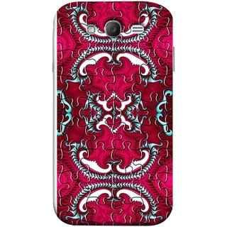 FUSON Designer Back Case Cover for Samsung Galaxy Grand Neo Plus I9060I :: Samsung Galaxy Grand Neo+ (Best Wallpaper Red Dark Shade Table Design Artwork)
