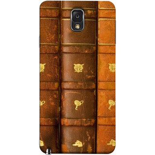 FUSON Designer Back Case Cover for Samsung Galaxy Note 3 :: Samsung Galaxy Note Iii :: Samsung Galaxy Note 3 N9002 :: Samsung Galaxy Note 3 N9000 N9005 (Law Book Library Bookshelf Knowledge Reading Always)