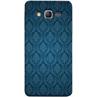 FUSON Designer Back Case Cover for Samsung Galaxy Grand Prime :: Samsung Galaxy Grand Prime Duos :: Samsung Galaxy Grand Prime G530F G530Fz G530Y G530H G530Fz/Ds (Blue Artwork Student Spots Amazing Plywood Table Cloth)
