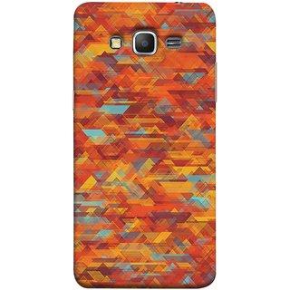 FUSON Designer Back Case Cover for Samsung Galaxy Grand Prime :: Samsung Galaxy Grand Prime Duos :: Samsung Galaxy Grand Prime G530F G530Fz G530Y G530H G530Fz/Ds (Geometric Watercolour Art Print Pink Bright)