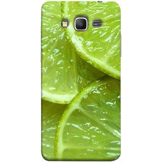 FUSON Designer Back Case Cover for Samsung Galaxy Grand Prime :: Samsung Galaxy Grand Prime Duos :: Samsung Galaxy Grand Prime G530F G530Fz G530Y G530H G530Fz/Ds (Lemon Agriculture Background Bud Candy Cell)