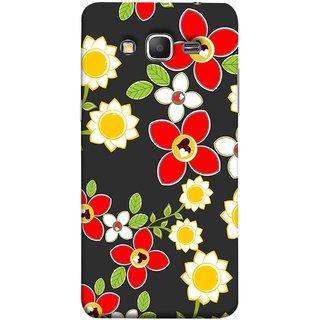 FUSON Designer Back Case Cover for Samsung Galaxy Grand Prime :: Samsung Galaxy Grand Prime Duos :: Samsung Galaxy Grand Prime G530F G530Fz G530Y G530H G530Fz/Ds (Floral Patterns Digital Textiles Florals Design Patterns)