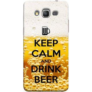 FUSON Designer Back Case Cover for Samsung Galaxy Grand Prime :: Samsung Galaxy Grand Prime Duos :: Samsung Galaxy Grand Prime G530F G530Fz G530Y G530H G530Fz/Ds (Beer Sign Glasses Bubbles Daaru Drink Wine Vodka)