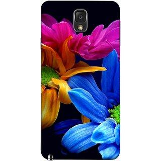 FUSON Designer Back Case Cover for Samsung Galaxy Note 3 :: Samsung Galaxy Note Iii :: Samsung Galaxy Note 3 N9002 :: Samsung Galaxy Note 3 N9000 N9005 (Colourful Wow Hd Gerbera Flowers Pink Blur Orange)