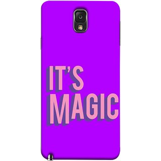 FUSON Designer Back Case Cover for Samsung Galaxy Note 3 :: Samsung Galaxy Note Iii :: Samsung Galaxy Note 3 N9002 :: Samsung Galaxy Note 3 N9000 N9005 (Lovely Wow Fact Motivational Inspirational Words)