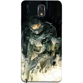 FUSON Designer Back Case Cover for Samsung Galaxy Note 3 :: Samsung Galaxy Note Iii :: Samsung Galaxy Note 3 N9002 :: Samsung Galaxy Note 3 N9000 N9005 (Army War Secret Missions Country Saver Fighter)
