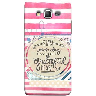 FUSON Designer Back Case Cover for Samsung Galaxy Grand Prime :: Samsung Galaxy Grand Prime Duos :: Samsung Galaxy Grand Prime G530F G530Fz G530Y G530H G530Fz/Ds (Great Hearts Dil Love Everyday Quotes Sunny Bright )