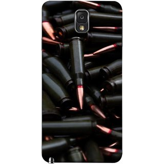 FUSON Designer Back Case Cover for Samsung Galaxy Note 3 :: Samsung Galaxy Note Iii :: Samsung Galaxy Note 3 N9002 :: Samsung Galaxy Note 3 N9000 N9005 (Rounds Ammunition Bullets Guns Aurora Murders)
