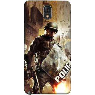 FUSON Designer Back Case Cover for Samsung Galaxy Note 3 :: Samsung Galaxy Note Iii :: Samsung Galaxy Note 3 N9002 :: Samsung Galaxy Note 3 N9000 N9005 (Photograph Movie Scene Anti Terror Sqad Attacks )