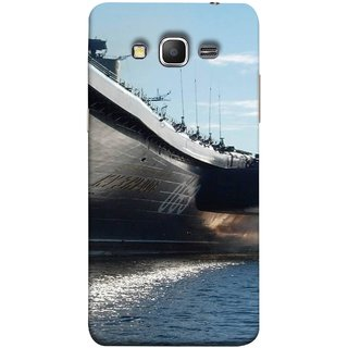 FUSON Designer Back Case Cover for Samsung Galaxy Grand Prime :: Samsung Galaxy Grand Prime Duos :: Samsung Galaxy Grand Prime G530F G530Fz G530Y G530H G530Fz/Ds (Indian Submarine Shoots Ship With Missile Training )