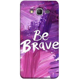 FUSON Designer Back Case Cover for Samsung Galaxy Grand Prime :: Samsung Galaxy Grand Prime Duos :: Samsung Galaxy Grand Prime G530F G530Fz G530Y G530H G530Fz/Ds (Be Strong Always Face Issues Bravery Painting )