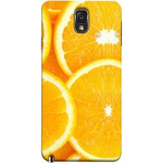 FUSON Designer Back Case Cover for Samsung Galaxy Note 3 :: Samsung Galaxy Note Iii :: Samsung Galaxy Note 3 N9002 :: Samsung Galaxy Note 3 N9000 N9005 (Lemon Agriculture Background Bud Candy Cell)