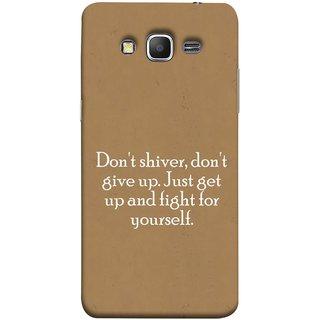 FUSON Designer Back Case Cover for Samsung Galaxy Grand Prime :: Samsung Galaxy Grand Prime Duos :: Samsung Galaxy Grand Prime G530F G530Fz G530Y G530H G530Fz/Ds (Yourself Motivational Inspirational Saying Quotes)