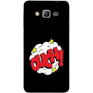 FUSON Designer Back Case Cover for Samsung Galaxy Grand Prime :: Samsung Galaxy Grand Prime Duos :: Samsung Galaxy Grand Prime G530F G530Fz G530Y G530H G530Fz/Ds (Nice Words Lag Gayi God Bless Ohhh White Cloud Stars )
