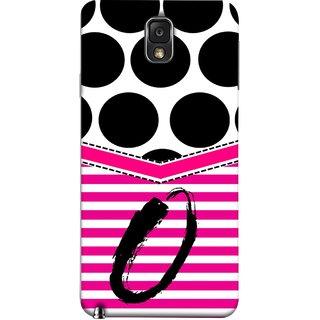 FUSON Designer Back Case Cover for Samsung Galaxy Note 3 :: Samsung Galaxy Note Iii :: Samsung Galaxy Note 3 N9002 :: Samsung Galaxy Note 3 N9000 N9005 (Beautiful Cute Nice Couples Pink Design Paper Girly O)
