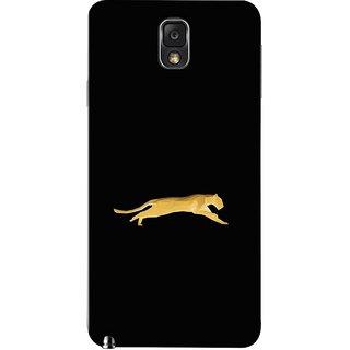FUSON Designer Back Case Cover for Samsung Galaxy Note 3 :: Samsung Galaxy Note Iii :: Samsung Galaxy Note 3 N9002 :: Samsung Galaxy Note 3 N9000 N9005 (Wild Jungle Tigers Whisker Roaring Sitting Safari India)