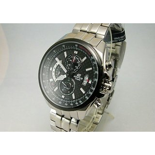 Casio Edifice 539D-1Av Black Chronograph Mens Watch