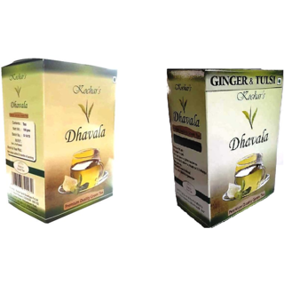 Green Tea 200 Gms Combo(Green Tea & Green Tea With Ginger & Tulsi)