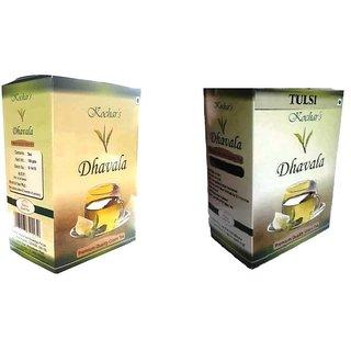 Green Tea 200 Gms Combo (Green Tea & Green Tea With Natural Tulsi)