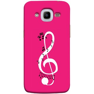 FUSON Designer Back Case Cover for Samsung Galaxy J2 (6) 2016 J210F ::  Samsung Galaxy J2 Pro (2016) (Colorful Music Notes Symbols Small Black  Notes)
