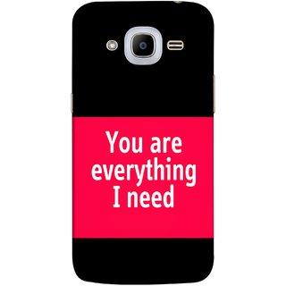 FUSON Designer Back Case Cover for Samsung Galaxy J2 (6) 2016  J210F :: Samsung Galaxy J2 Pro (2016) (Tu Tum Aap Mere Liye Sub Kuch Maze Vishwa )