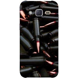 FUSON Designer Back Case Cover for Samsung Galaxy J2 J200G (2015) :: Samsung Galaxy J2 Duos (2015) :: Samsung Galaxy J2 J200F J200Y J200H J200Gu  (Rounds Ammunition Bullets Guns Aurora Murders)