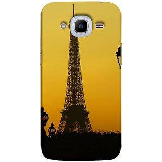 FUSON Designer Back Case Cover for Samsung Galaxy J2 (6) 2016  J210F :: Samsung Galaxy J2 Pro (2016) (Bridge Eiffel Tower France Paris Ornate Lamp)