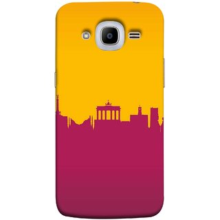 FUSON Designer Back Case Cover for Samsung Galaxy J2 (6) 2016  J210F :: Samsung Galaxy J2 Pro (2016) (Astounding Skyscrapers Of Remarkable Architectural)