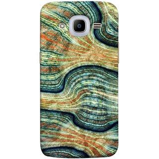 FUSON Designer Back Case Cover for Samsung Galaxy J2 (6) 2016  J210F :: Samsung Galaxy J2 Pro (2016) (Rivers Lining Artist Perfect Waves Wavelength)