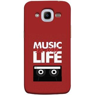 FUSON Designer Back Case Cover For Samsung Galaxy J2 6 2016 J210F