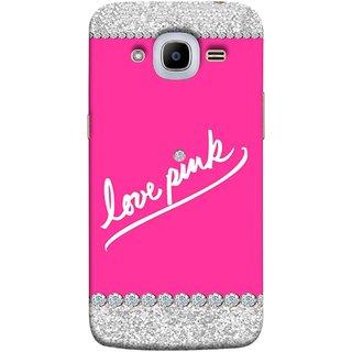 promo code 499bf 02937 FUSON Designer Back Case Cover for Samsung Galaxy J2 (6) 2016 J210F ::  Samsung Galaxy J2 Pro (2016) (Always Like Pink Colours Small Diamonds Girls)