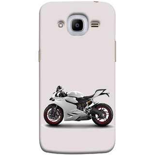 FUSON Designer Back Case Cover for  Galaxy J2 (6) 2016  J210F ::  Galaxy J2 Pro (2016) (Expensive Cars Vintage Sports Bike Expensive )